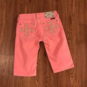 Miss Me jeans Bermuda shorts size 14